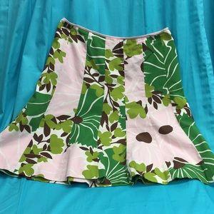 J. Crew Tulip shaped Cotton Skirt